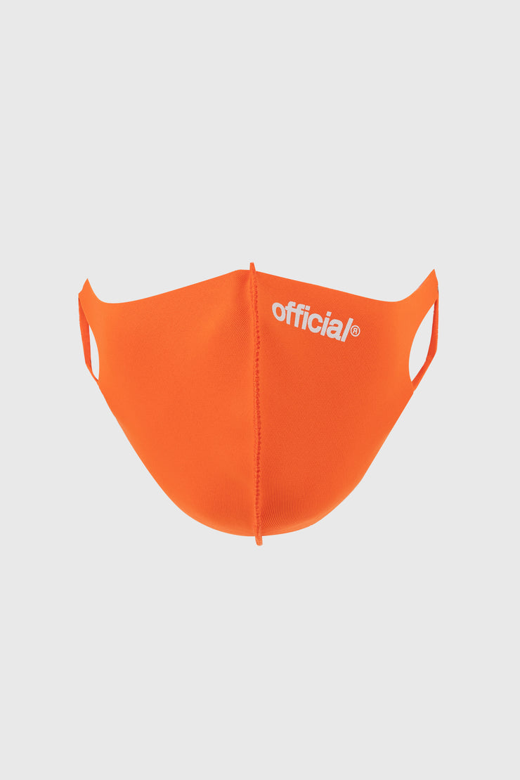 Official Nano-Polyurethane Face Mask (Orange)
