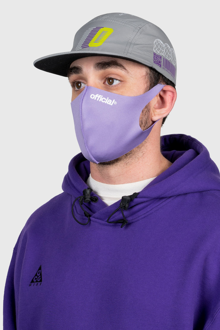 Official Nano-Polyurethane Face Mask (Purple)
