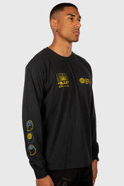 Reality Distortion Field Longsleeve Shirt (Black)