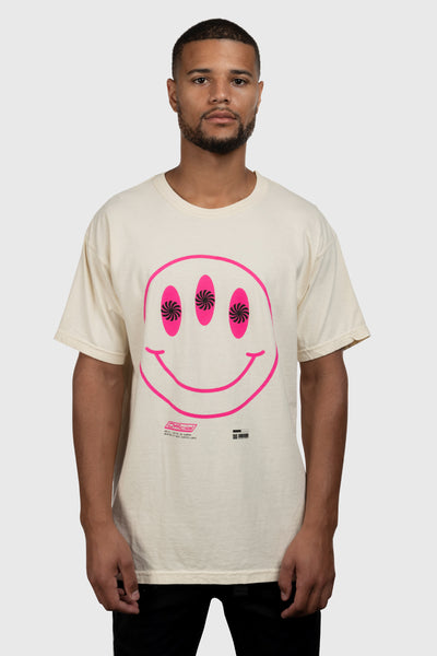 Smile You're On Camera T-Shirt (Ivory)