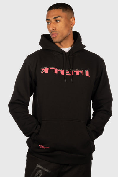 Spirit Into Matter Hooded Sweatshirt (Black)