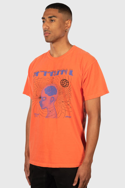 Spirit Into Matter T-Shirt (Bright Coral)