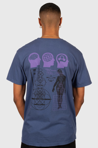 Unlocked Potentials T-Shirt (Deep Blue)