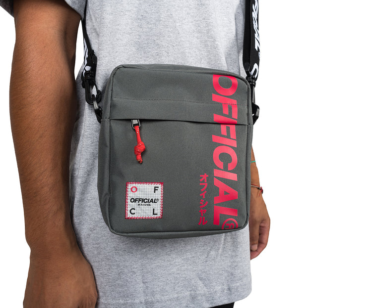 Shibuya Hip Utility Bag (Gray)