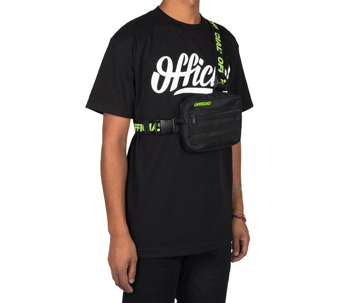 Piste Tri-Strap Utility Chest Bag (Black Volt)
