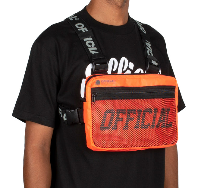 Melrose Chest Utility Bag (Orange)