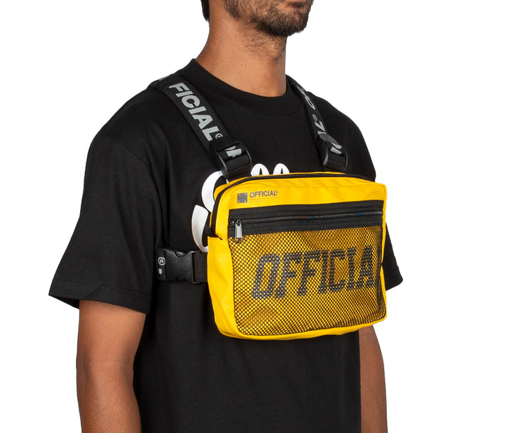 Melrose Chest Utility Bag (Yellow) - RESTOCK PREORDER
