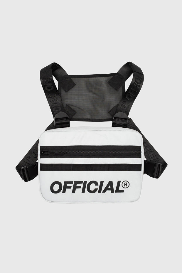 RFLCTIV 3M Silver Reflective Chest Bag