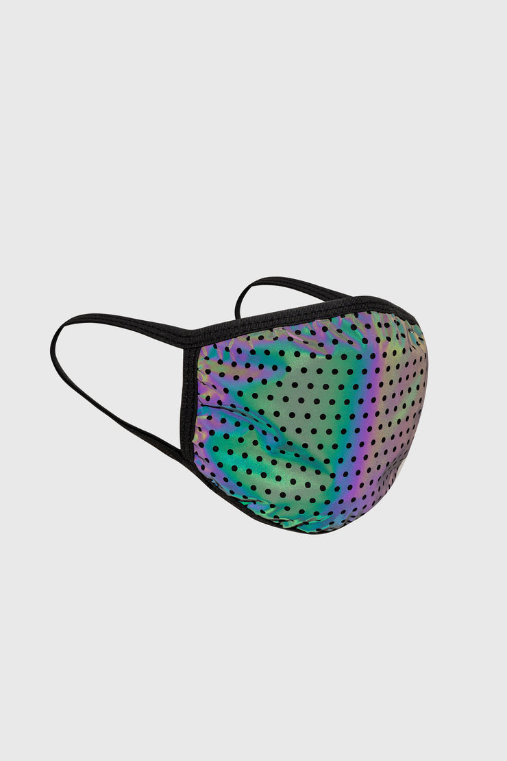 Rainbow Reflective Face Mask