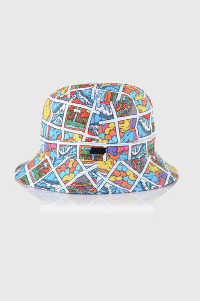 Square Waves Bucket Hat