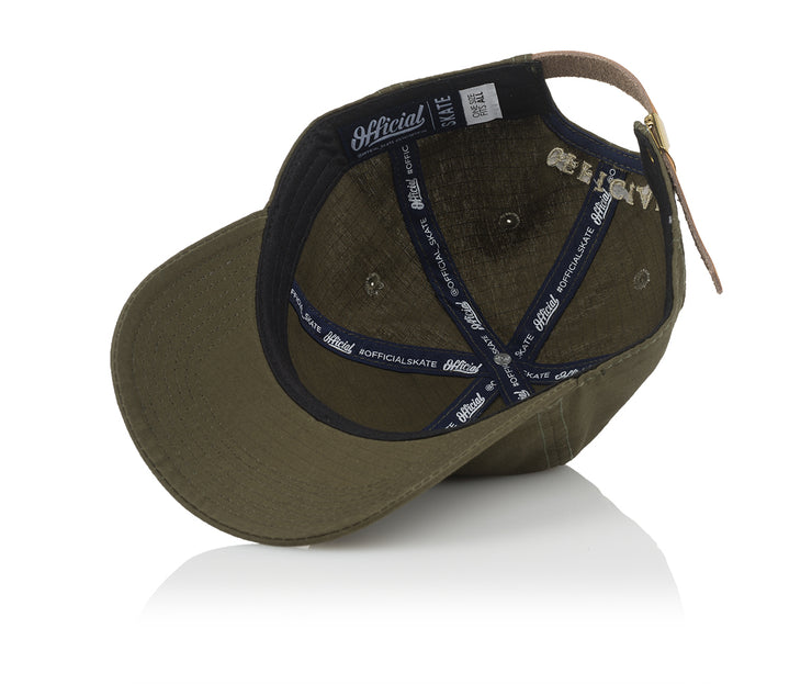 Official 'O' Ripstop Olive
