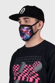 Space Nebula Face Mask
