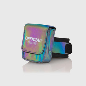RFLCTIV Rainbow Reflective Micro Bag
