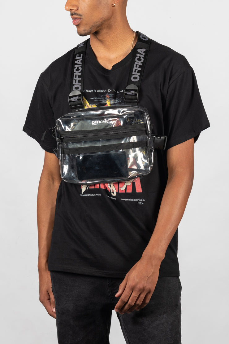 Transparent Utility Chest Bag (Clear)