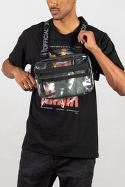 Transparent Chest Utility Bag (Clear)