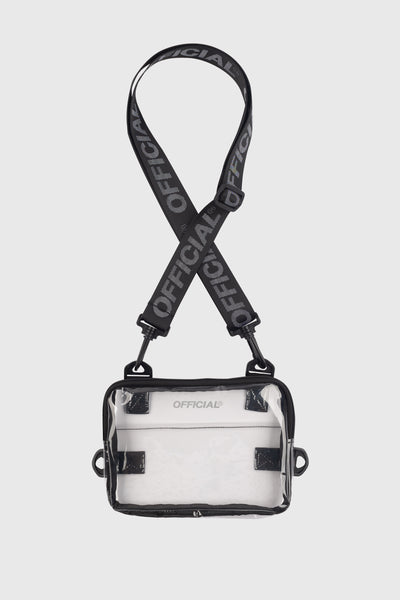 Transparent Neck Utility Bag (Clear)