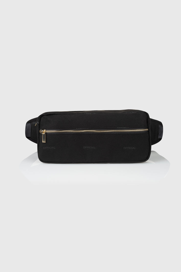 Milano Luxe Shoulder/Hip Bag (Black)