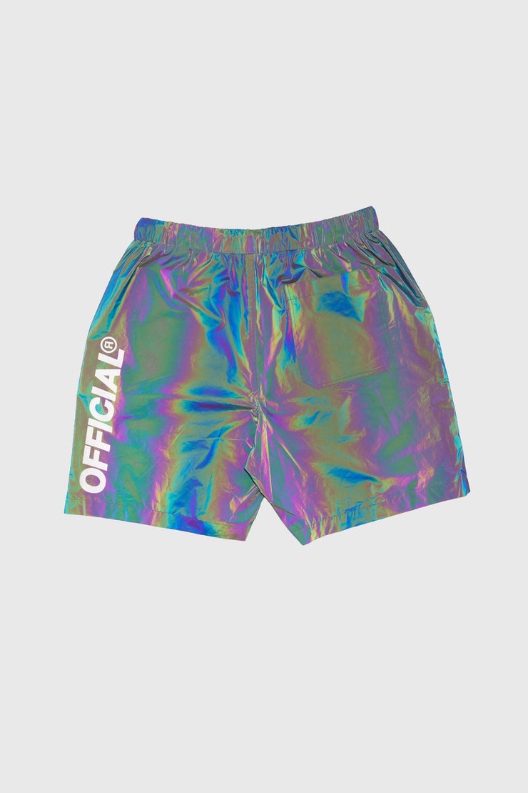 RFLCTIV Squid Ink Dichroic Reflective Shorts
