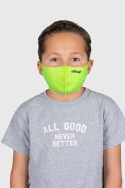 [Kids Size] Official Nano-Polyurethane Face Mask (Volt)
