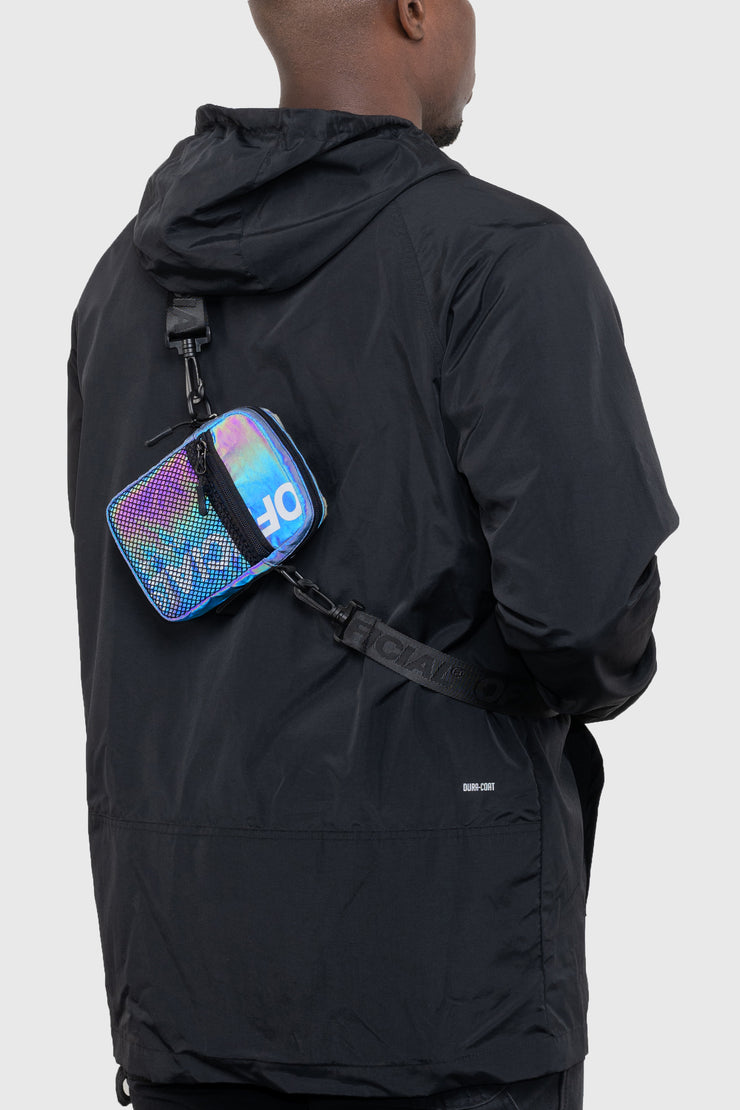 RFLCTIV Rainbow Reflective EDC Shoulder Bag