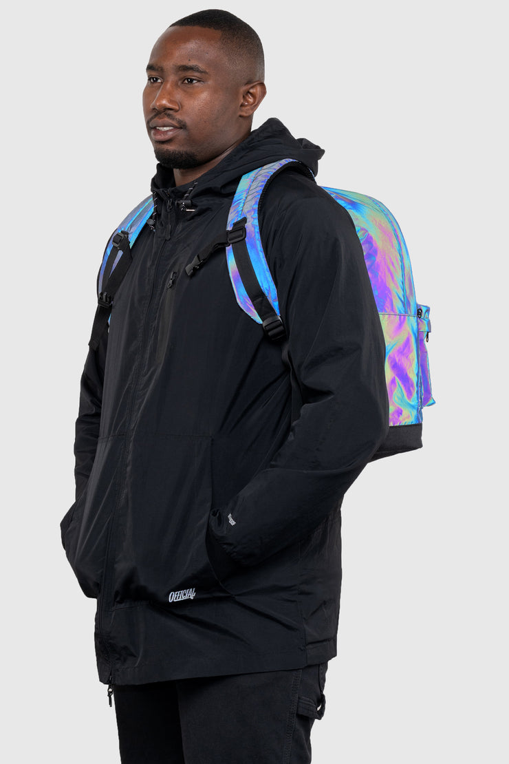 RFLCTIV Rainbow Reflective Backpack