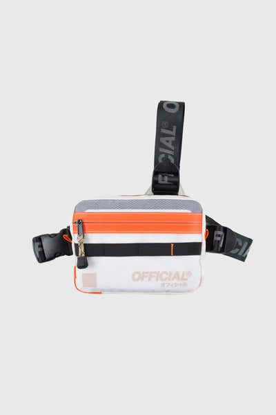 Vapour Tri-Strap Chest Utility Bag (Cloud White)