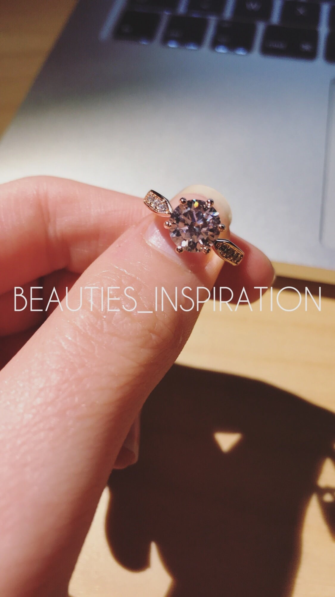 Bague Rose Gold