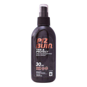 Intensificador del Bronceado Tan & Protect Intensifying Piz Buin Spf 30 (150 ml) - Shoppinghappylife