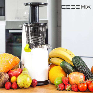 Licuadora Cecomix Juicer Compact 4038 120W Blanco Negro - Shoppinghappylife
