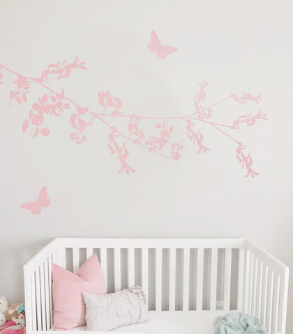 Blossom Nursery Wall Sticker