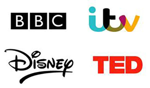 BBC / ITV / Disney / TED