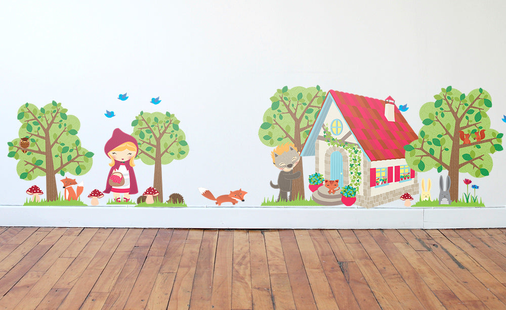Red Riding Hood wall art
