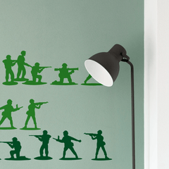 Army Men Wall Stickers
