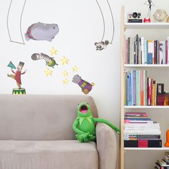 Circus Wall Stickers By Nick East
