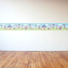 Fairy Border Wall Sticker