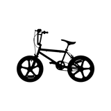 BMX Burner Wall Sticker