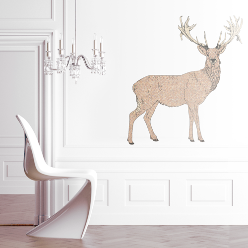 stag wall sticker