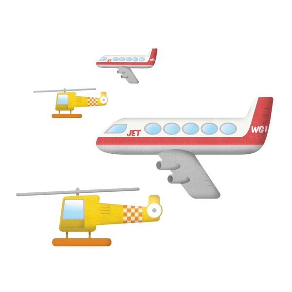 Aircraft Wall Stickers by Nick East