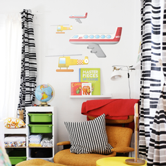 Aircraft Wall Stickers