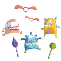 Monsters Wall Stickers