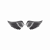 Angel Wings Wall Sticker
