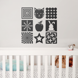 Baby Visual Development Wall Stickers