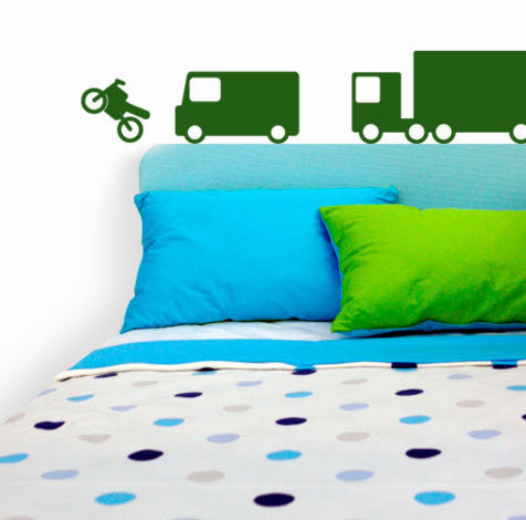 Big Vehicles Wall Stickers - Wall Glamour