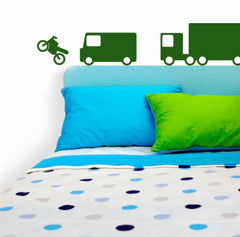 Big Vehicles Wall Stickers