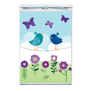 Birds Fridge Decal - Wall Glamour