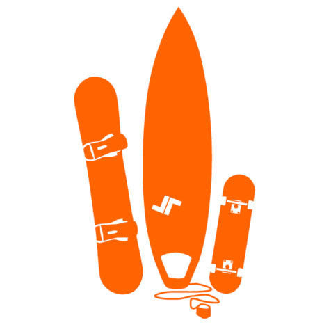 Boardsports Wall Sticker