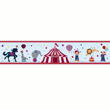 Circus Border Wall Sticker - Wall Glamour