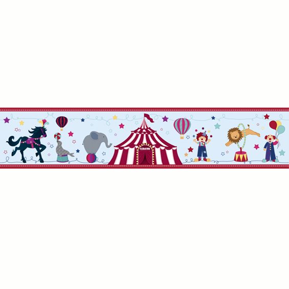 Circus Border Wall Sticker
