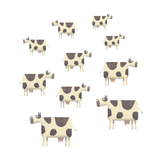 Cow Herd Wall Stickers
