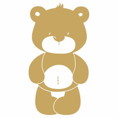 Cute Teddy Bear Wall Sticker